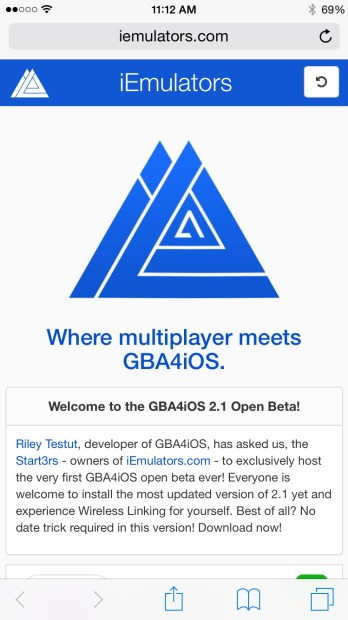 gba4ios 8.1 download