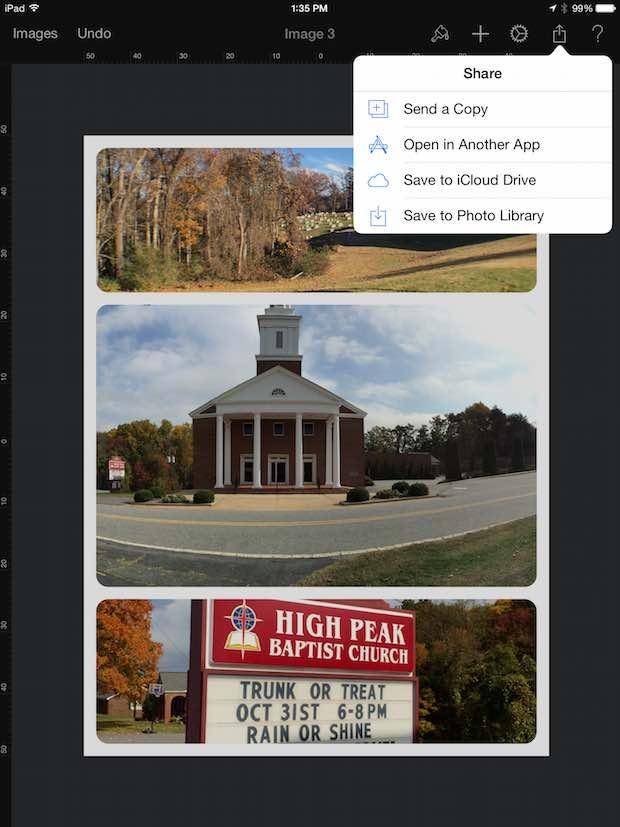 pixelmator for ipad sharing