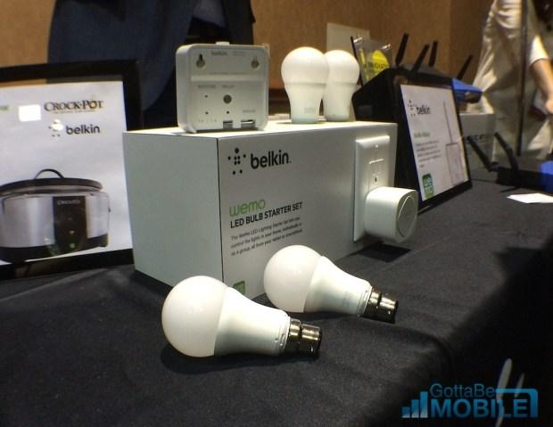 Belkin's new smart  LED light bulbs start at $129.