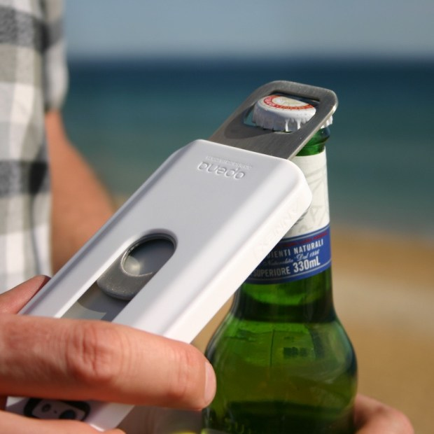 This iPhone 5 bottle opener case is a nice party accessory.