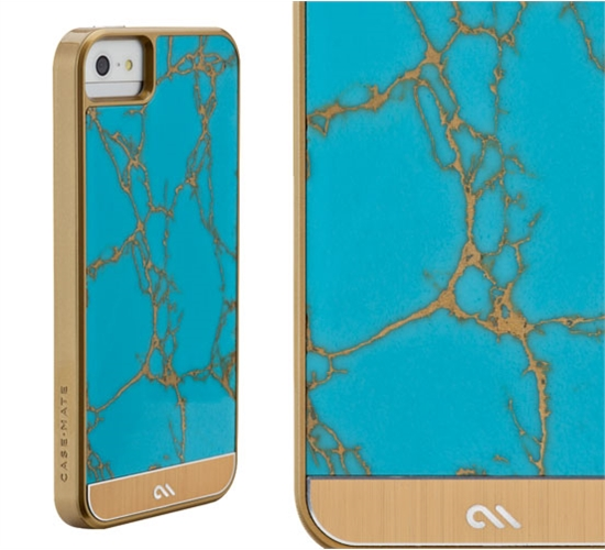 Case Mate uses real gemstones and aluminum accents to make these iPhone 5 cases shine.
