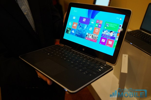 The Dell XPS 11 is a tablet and a notebook.