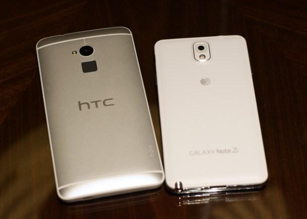 Galaxy Note 3 vs HTC One Max - 7