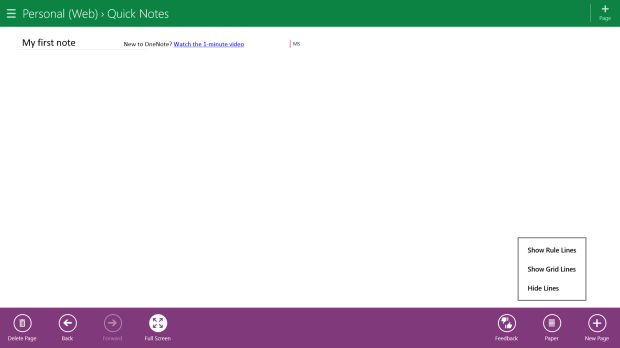 How To Make Writing in OneNote MX Easier (4)