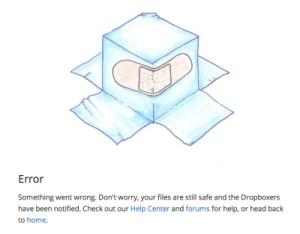 dropboxproblems