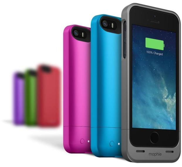 This slim iPhone 5 battery case adds at least 60% battery life to the iPhone 5.