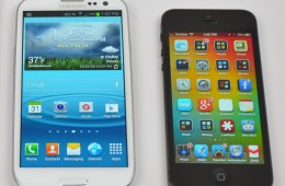A new investor note claims Apple is set on a 4.8-inch display, the same size as the Galaxy S3.