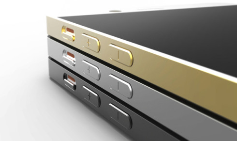 iPhone 6 concept - Buttons