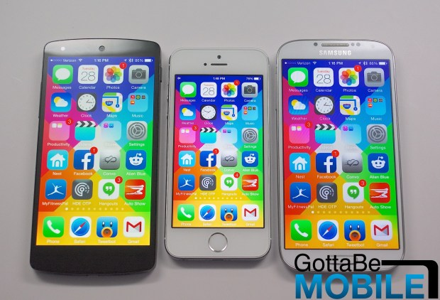iPhone 6 screen size comparison -  007