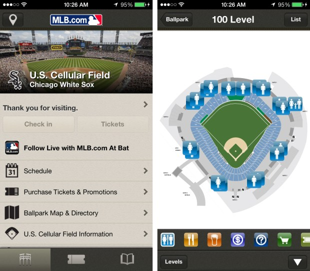 iBeacon at MLB Ballparks