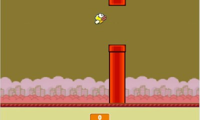 Flappy Bird Online options include one that makes Flappy Bird even harder.