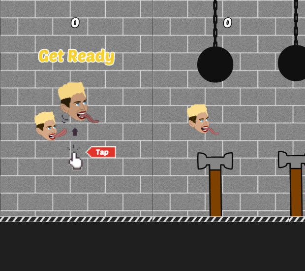 The Flying Cyrus - Wrecking Ball app is a Miley Cyrus Flappy Bird clone.