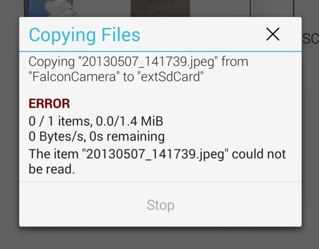 Not all apps can access the Micro SD card on the Galaxy S4 after the update.