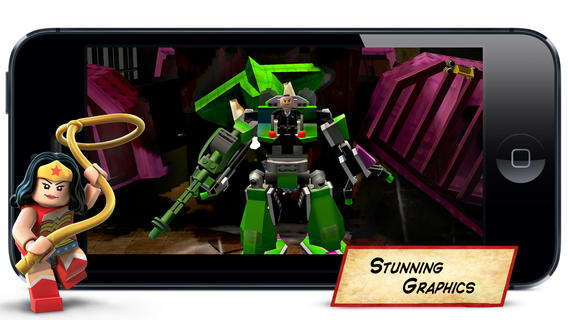 LEGO Batman for iPad and iPhone delivers a LEGO Movie experience with superheroes.