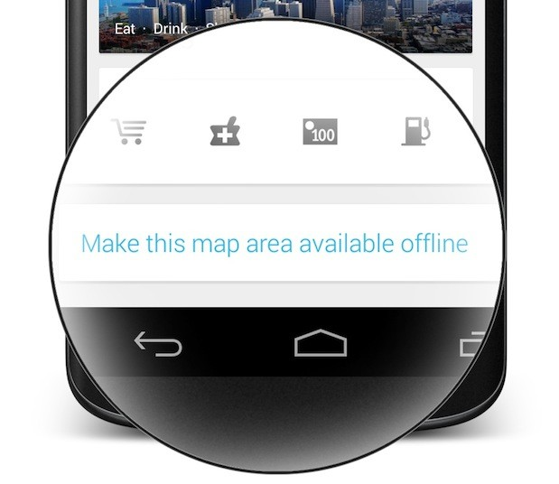 How to Save Google Maps for Offline Use Make Maps Available Offline on print maps, facebook maps, service maps, online interactive maps, advertising maps,