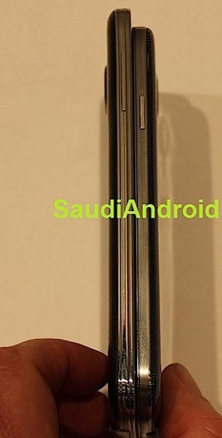 Galaxy S5 dimensions show a taller device, but not one that is much thicker.
