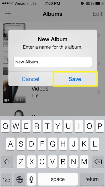 Save Album
