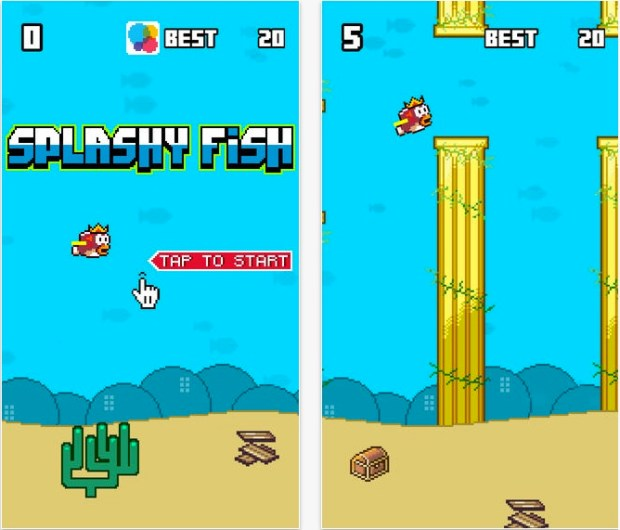 Splashy Fish cheats arrive for this Flappy Bird Replacement that tops the App Store.