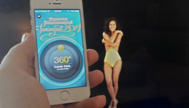 The Sports Illustrated Swimsuit 2014 app includes AirPlay options.