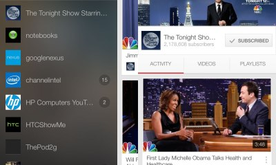 The Tonight Show Starring Jimmy Fallon posts skits like Brian Williams rapping Rapper's Delight and others.
