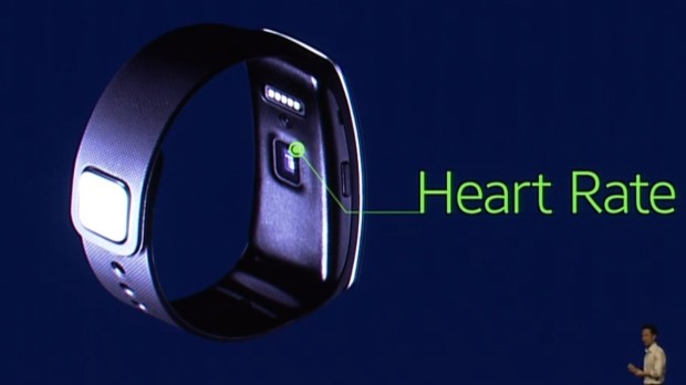 gear-fit Heart Rate Sensor