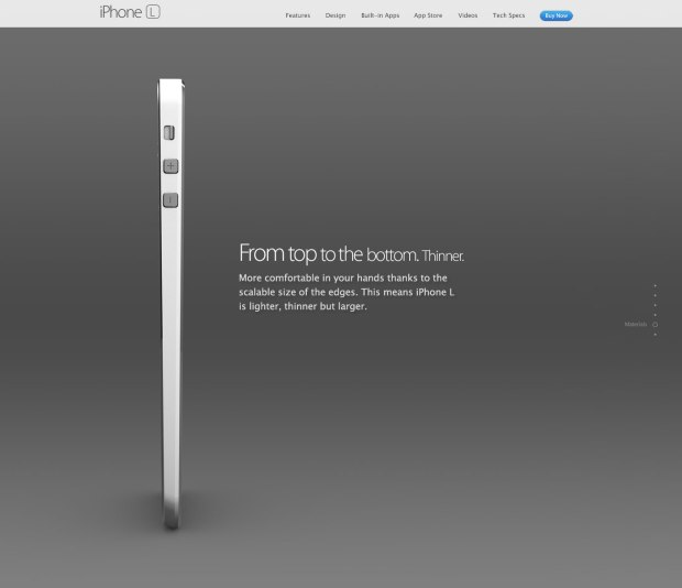 This iPhone 6 concept looks like half of a MacBook Air.