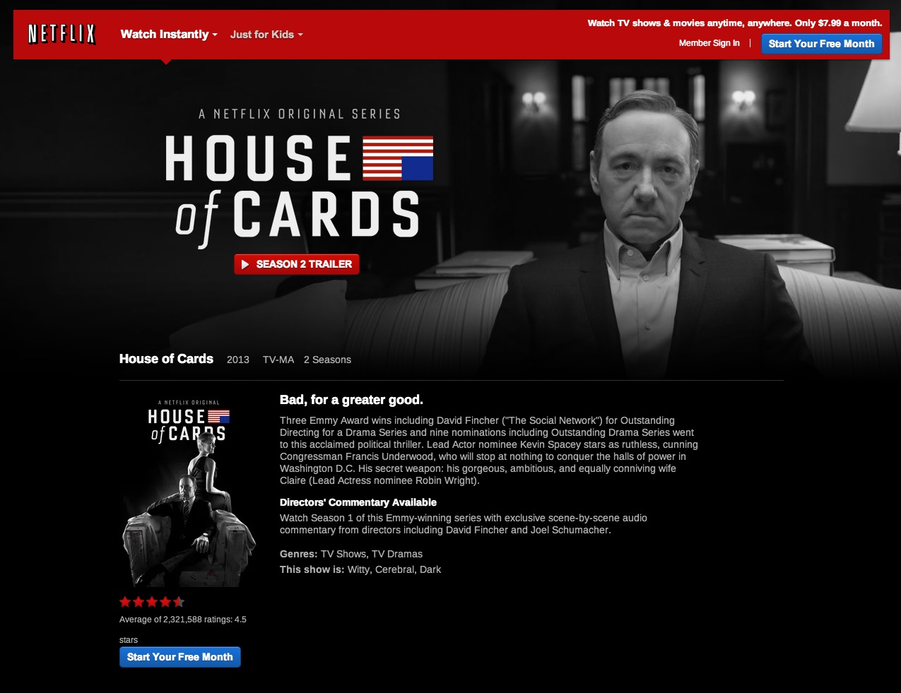 House of cards watch online 28 images watch house of for Couchtuner 02