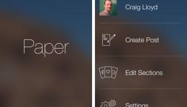 New Facebook App Paper