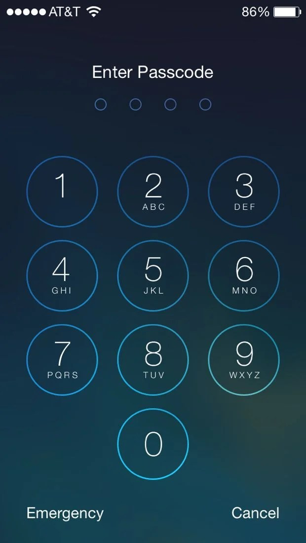 iphone 5 lock screen how to set a passcode on the iphone 5s lock screen 2176
