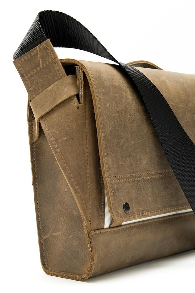 Rough Rider Leather Messenger Bag Shoulder Strap
