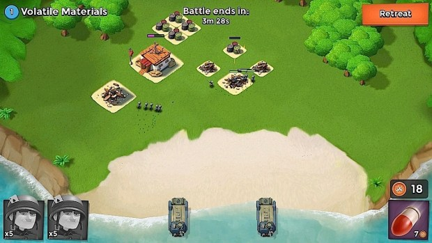 Multitask while playing Boom Beach.