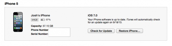 You can use iTunes to install iOS 7.1.