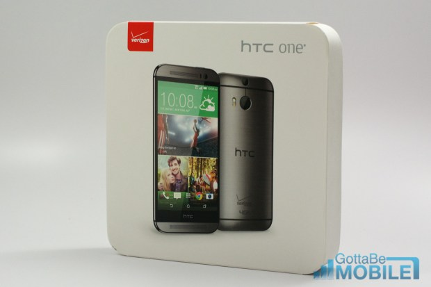 Take look at the new Verizon HTC One M8 unboxing.