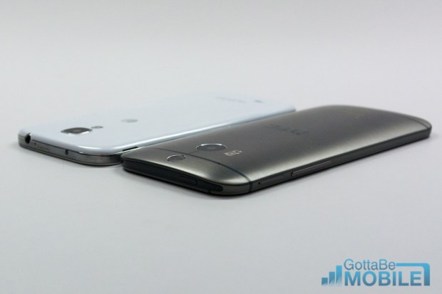 New HTC One M8 vs - GS4-X3