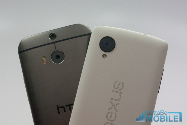 New HTC One M8 vs -  Nexus 512-X3