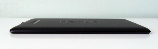 The Nexus 7 LTE on Verizon is as thin as the WiFi model.