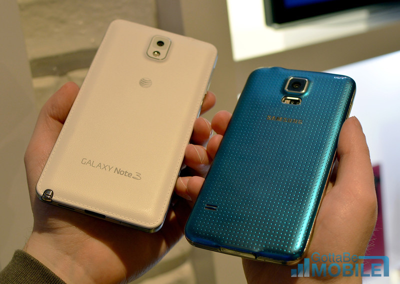 Galaxy S5 vs. Galaxy Note 3 vs. Note 2: 10 Things Buyers Need to Know