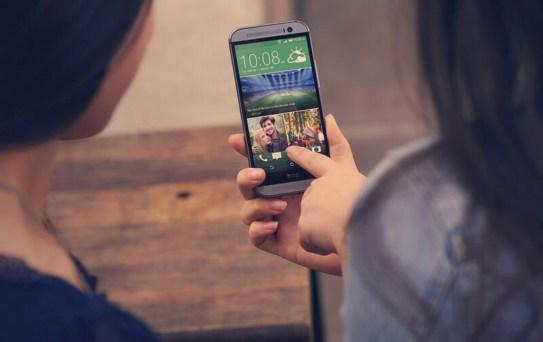The new HTC One running Sixth Sense.