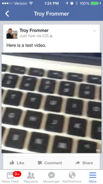 Test Video (Facebook)