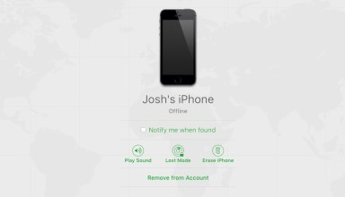 Select the device you need to turn off Find My iPhone for.