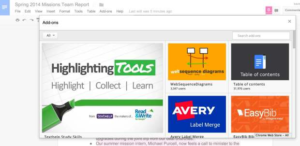 How to Use Google Drive's New Add-ons in Google Docs and