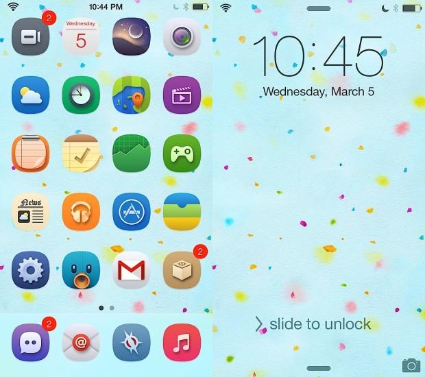 Aura for iOS 7