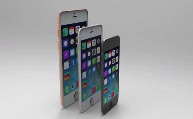 iPhone 6 Concept Shows Small, Medium and Large