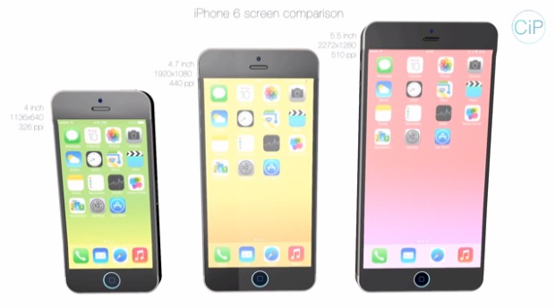 iPhone 6 4.7-inch & 5.7-inch Concepts