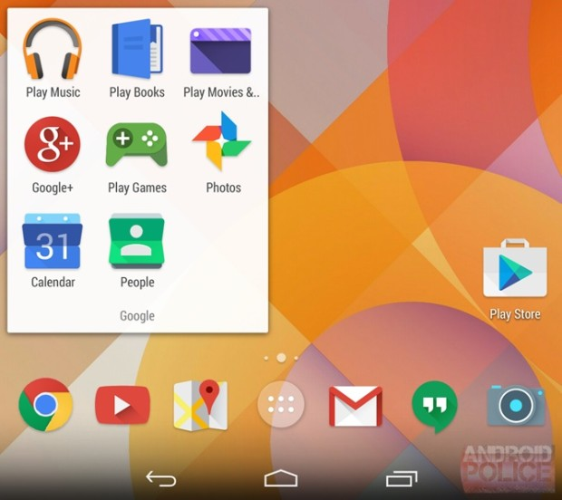 This is a potential new look for Android 4.5.