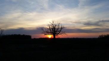 Galaxy s5 Sunset no HDR