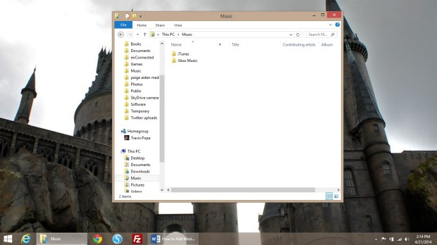 How to Add Music to Your Windows 8.1 Device (15)