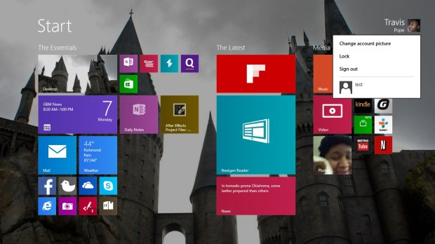 How to Sign Out of Windows 8 (2)