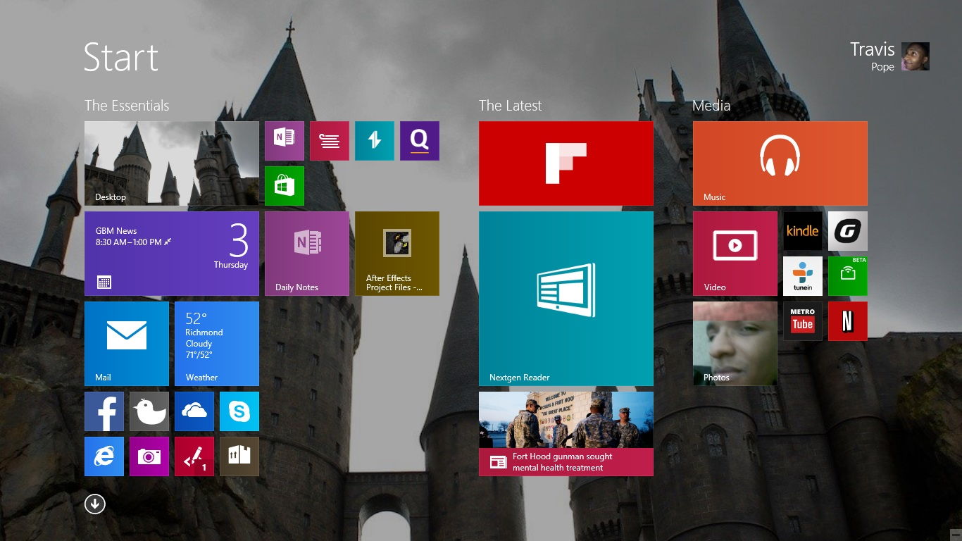 How to Turn Off Live Tiles in Windows 8.1