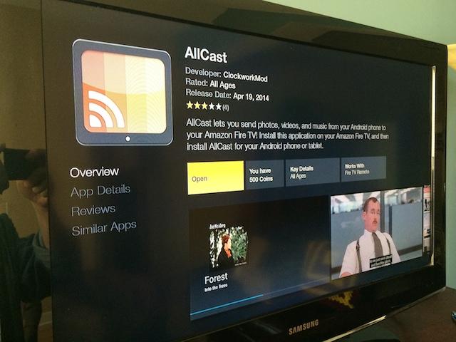 allcast stream to xbox one